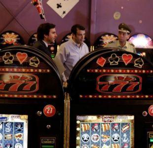 Estación Central clausura casinos ilegales e incauta 93 máquinas