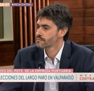 """[VIDEO] Raimundo Cruzat y paro portuario: """"Hay una deuda del Estado con los trabajadores portuarios"""""""