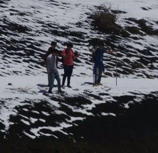 [VIDEO] Niños mapuches conocieron la nieve
