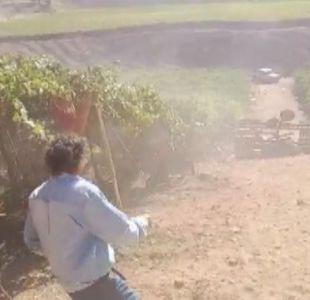 [VIDEO] Dos temporeras están graves tras ser atropelladas por tractor