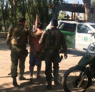 Detienen a sujeto acusado de violar a su madre en Renca