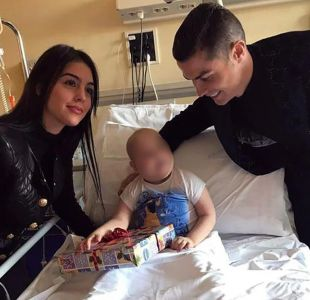 El gran gesto navideño de Cristiano Ronaldo: Visitó a niños en un hospital de Turín
