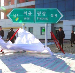 Realizan ceremonia simbólica para reconectar las dos Coreas por tren y carretera