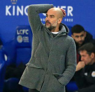 Manchester City de Guardiola pierde con el Leicester y encadena su segunda derrota consecutiva
