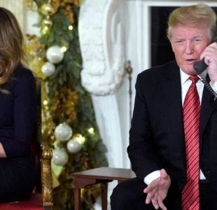 La niña de 7 años que todavía cree en el Viejito Pascuero pese a la pregunta de Donald Trump