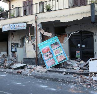 Sicilia decretará estado de calamidad tras erupción y terremoto