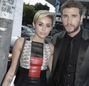 Miley Cyrus confirma boda con Liam Hemsworth