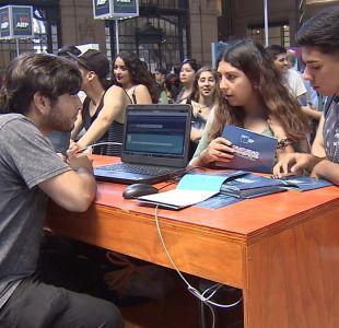 [VIDEO] PSU: Problemas en sitio de postulación marcaron primer día de postulaciones