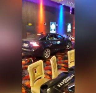 [VIDEO] Noche de furia en casino de Talca