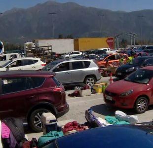 [VIDEO] 2 millones de pasajeros saldrán de Santiago