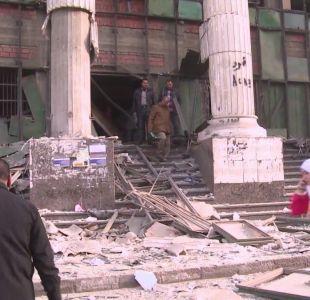 [VIDEO] Egipto mata a 40 presuntos terroristas