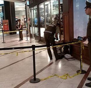 [VIDEO] Los momentos de terror que vivieron los testigos del asalto en el Mall Parque Arauco