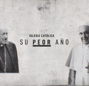 Lo que dejó el 2018: La crisis de la iglesia católica