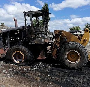 Ataque incendiario en Carahue, La Araucanía