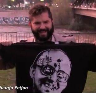 [VIDEO] José Antonio Kast denuncia a Boric por posar con imagen de Jaime Guzmán baleado