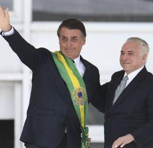 Las polémicas frases del primer discurso de Jair Bolsonaro como Presidente de Brasil