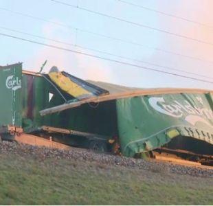[FOTOS] Dinamarca: Policía confirma que al menos seis muertos deja accidente ferroviario