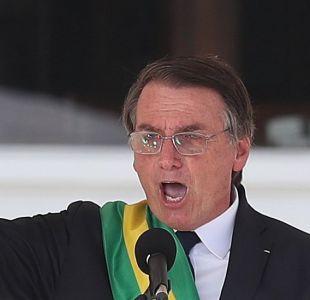[VIDEO] Bolsonaro afirma estar abierto a discutir en un futuro base militar de EEUU en Brasil