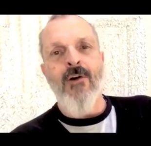[VIDEO] Preocupación por el estado de salud de Miguel Bosé tras mensaje de Año Nuevo