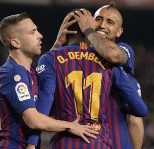 """[VIDEO] Un feliz Arturo Vidal anuncia que este 2019 empieza """"con todo"""""""