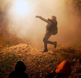 Caravana de migrantes: agentes lanzaron gases lacrimógenos en la frontera entre EEUU y México