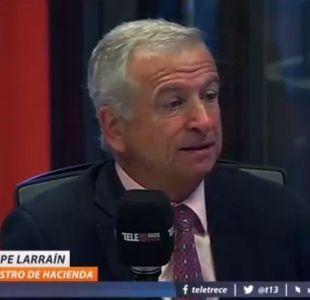 Felipe Larraín por ley de cotizaciones independientes