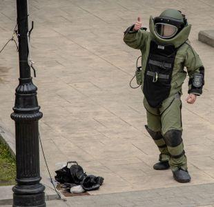 Atentado en Santiago: Así son los trajes antibombas que utiliza el GOPE