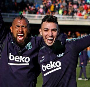 Arturo Vidal sigue cosechando triunfos en FC Barcelona