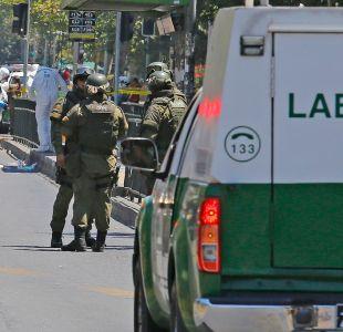 La dura pena de cárcel que arriesgan los autores de la explosión en Santiago centro