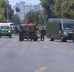 [VIDEO] Cinco heridos dejó ataque explosivo en centro de Santiago
