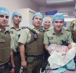 Carabineros ayuda a dar a luz a una mujer que se encontraba en trabajo de parto en Iquique