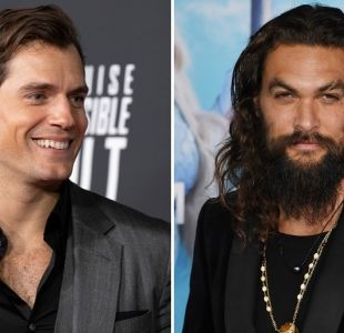 """[FOTOS] El divertido mensaje con que """"Superman"""" saludó a Jason Momoa tras ver """"Aquaman"""""""