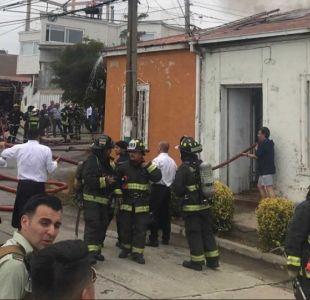 Bomberos controla incendio en cerro esperanza