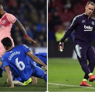 El arriesgado pase de Arturo Vidal a Ter Stegen en la victoria del Barcelona