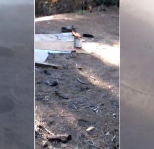 [VIDEO] Video inculparía a jóvenes por incendio en Curauma