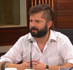 """[VIDEO] Gabriel Boric: """"Me hago cargo de mi liviandad"""""""