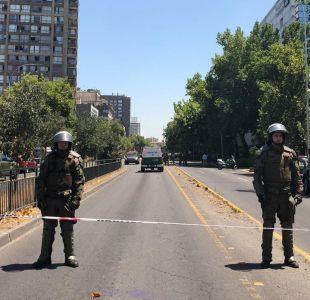 """Martorell y explosión en Santiago centro: """"Es natural que la ciudadanía sienta miedo"""""""