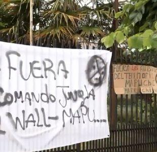 Carabineros desaloja municipalidad de Ercilla tras 12 días de toma