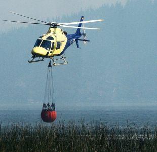 Incendios forestales: Conaf trabaja en 11 focos activos