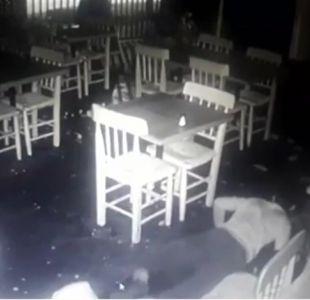 [VIDEO] Menores de edad son detenidos tras millonario robo en centro comercial de Ñuñoa