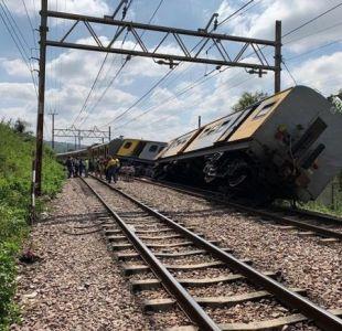 [FOTOS] Accidente ferroviario deja al menos cuatro fallecidos y cientos de heridos en Sudáfrica