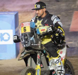 [VIDEO]Pablo Quintanilla termina quinto la segunda etapa de motos del Dakar