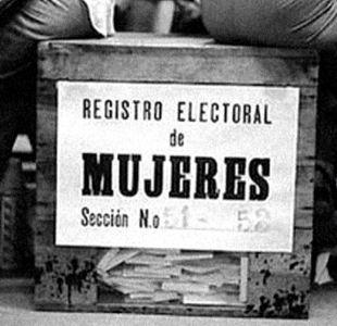 [VIDEO] A 70 años del voto femenino en Chile