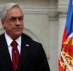 """Piñera respalda a Chadwick: """"Es un muy buen ministro y cuenta con toda mi confianza"""""""