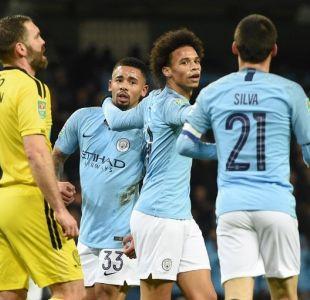 El Manchester City propinó humillante goleada a equipo a de la tercera división