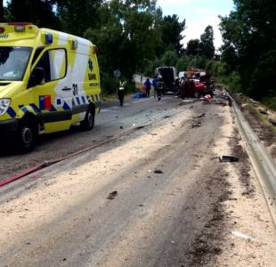 [VIDEO] 9 muertos y 11 heridos en grave accidente en Valdivia