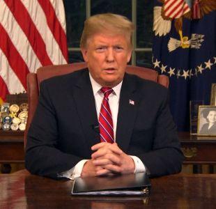 [VIDEO] El polémico discurso de Trump por el muro