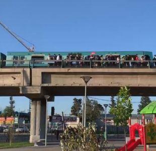 Suspensión parcial en Línea 5 del Metro de Santiago