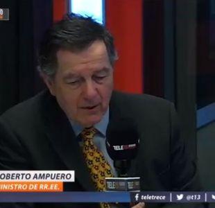 Roberto Ampuero en Tele13 Radio