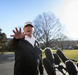 Trump anuncia que no irá al Foro de Davos por falta de acuerdo para muro fronterizo